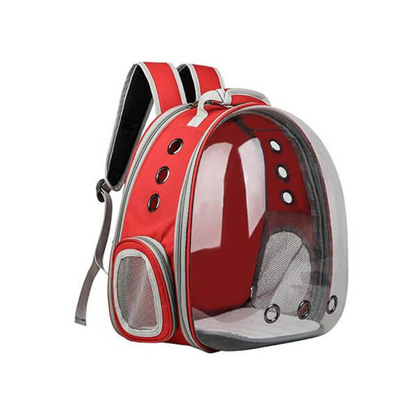 apollo dog backpack carrier tent tech red