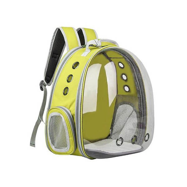 apollo dog backpack carrier tent tech yellow